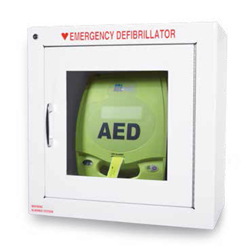 ZOLL AED 7 inch cabinet