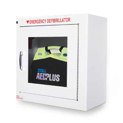 ZOLL AED 9 inch cabinet