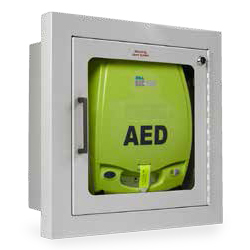 ZOLL AED Fully cabinet