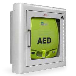 ZOLL AED Semi cabinet